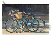 Bicycles On Main Street Carry-all Pouch
