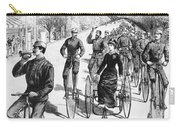 Bicyclist Meeting, 1884 Carry-all Pouch