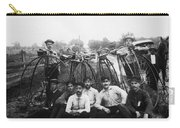 Bicyle Riders, C1880s Carry-all Pouch