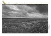 Big Badlands Overlook Panorama 2 Bw Carry-all Pouch