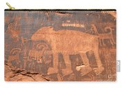 Big Bear Petroglyph Carry-all Pouch