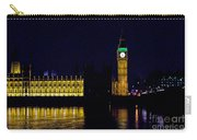 Big Ben Along The Thames Carry-all Pouch