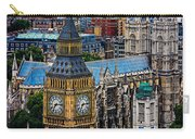 Big Ben And Westminster Abbey Carry-all Pouch