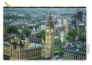 Big Ben From The London Eye Carry-all Pouch