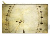 Big Ben In The London Eye Carry-all Pouch