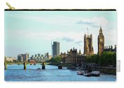 Big Ben, Parliament And River Thames Carry-all Pouch