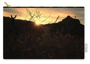 Big Bend Sunrise 1 Carry-all Pouch