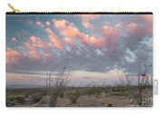 Big Bend Sunrise-blooming Ocotillo Carry-all Pouch