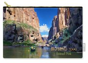 Big Bend Texas National Park Mariscal Canyon Carry-all Pouch