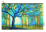 Big Blue Tree Carry-all Pouch