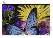 Big Blue Wings Carry-all Pouch