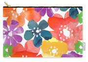Big Bright Flowers Carry-all Pouch