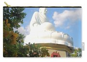 Big Buddha Statue At The Long Son Pagoda In Nha Trang Vietnam Carry-all Pouch