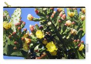 Big Cactus, Yellow Flowers Carry-all Pouch