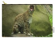 Big Cat, Big Yawn Carry-all Pouch