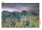 Big Cottonwood Canyon Sunrise Carry-all Pouch