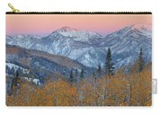 Big Cottonwood Canyon Wasatch Sunrise Carry-all Pouch