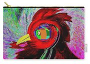 Big Fat Red Hen Carry-all Pouch