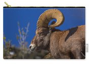 Big Horn Looking Down Carry-all Pouch