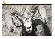 Big Horn Ram Bandw 5 Carry-all Pouch