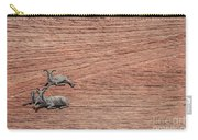 Big Horned Sheep Of Zion Carry-all Pouch