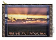 Big Montana Sky Carry-all Pouch