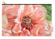 Big Peach Poppy 2 Carry-all Pouch
