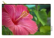 Big Pink Hibiscus Carry-all Pouch