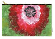 Big Red Flower Carry-all Pouch