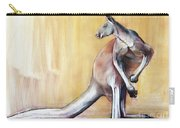 Big Red  Kangaroo Carry-all Pouch