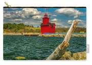 Big Red Lighthouse In Michigan Carry-all Pouch