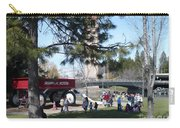Big Red Wagon In Riverfront Park Carry-all Pouch