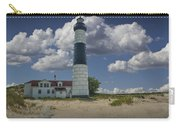 Big Sable Lighthouse Under Cloudy Blue Skies Carry-all Pouch