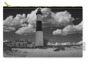 Big Sable Lighthouse Under Cloudy Skies Carry-all Pouch