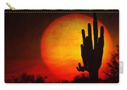 Big Saguaro Sunset Carry-all Pouch