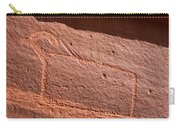 Big Sheep Petroglyph Carry-all Pouch