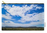 Big Sky In Pecos Valley Carry-all Pouch