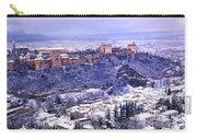 Big Snow In The Alhambra Granada  Carry-all Pouch