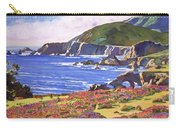 Big Sur Wildflowers - Plein Air Carry-all Pouch
