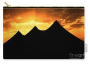 Big Top Sunset Carry-all Pouch