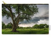 Big Tree - Tall Cottonwood And Storm In Texas Panhandle Carry-all Pouch