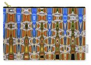Big Tree Stump Abstract Carry-all Pouch