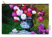 Big Vase With Peonies Carry-all Pouch