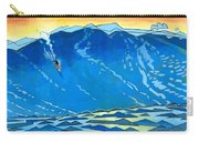 Big Wave Carry-all Pouch by Douglas Simonson