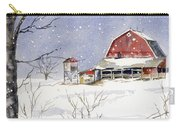 Big White Horse Carry-all Pouch