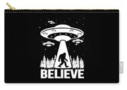 Bigfoot Alien Ufo Apparel Carry-all Pouch