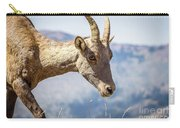Bighorn In Yellowstone Carry-all Pouch
