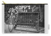 Bike At Kopp's Cycles Shop In Princeton Carry-all Pouch