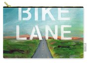 Bike Lane- Art By Linda Woods Carry-all Pouch