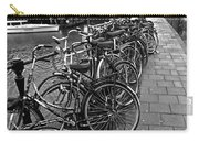 Bike Parking -- Amsterdam In November Bw Carry-all Pouch
